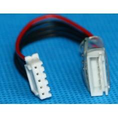 4 celių, 5 kontaktų Li-Po balansavimo jungties prailginimo laidas