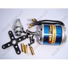 """EMAX BL2220/07 1200KV 85g """"Outrunner"""" tipo bešepetėlinis variklis"""