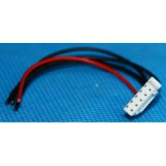 Balansavimo jungtis 4 celių, 5 kontaktų, 10cm ilgio.