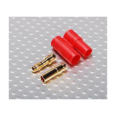 Paauksuota 3.5mm jungtis plastikiniame korpuse