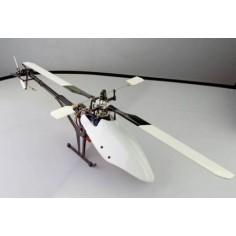 SJM 400 Pro-F aliuminio-stiklo pluošto elektrinis sraigtasparnis, nesurinktas komplektas su varikliu