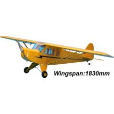 CM Piper J3 CUB EP ARF 1830mm, beveik paruoštas skrydžiui