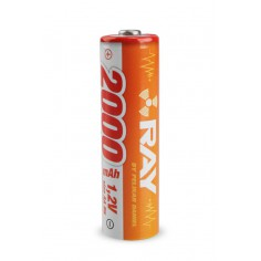 1.2V 2000mAh RAY Long AA size