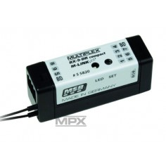 55820 Receiver RX-9 DR compact M-LINK 2,4GHz