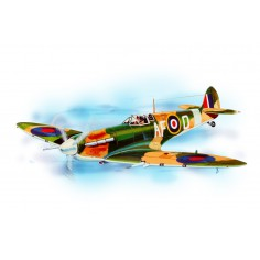 Spitfire historic plane kit lazer cut model