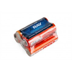6.0V 2000AA Long RAY RX 5cell. receiv.pack