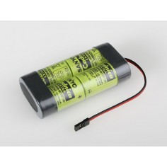 4.8V 1800SCE Sanyo RX 4cell. receiv.pack