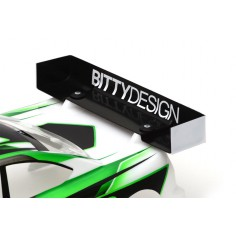 Rear HARD 1mm Wing 190mm 1/10 TC bodies - Ultra Charge