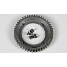 Steel gearwheel big 48 teeth, reinforced, 1pce.