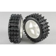 Super-grip Knobbed tires S glued, 2pcs.