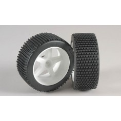Mini-Pin, M , OR tires, glued, white 2pcs.