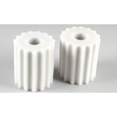 Foam filter oiled, 2pcs.