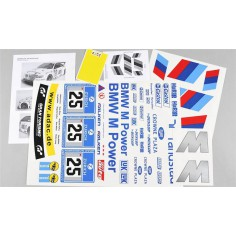 Team decals BMW M3 ALMS, set