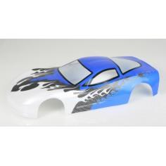 Car body Himoto 1:10 corvette blue