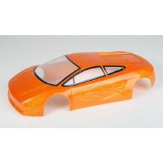 Car body Himoto 1:10 lamborghini orange