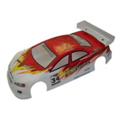 Car body Himoto Nascada red