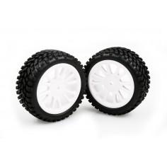 White Rim & Tire Complete (85022w+19219) 2p