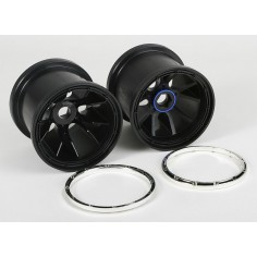 Whell rims complete 2pcs 1/5