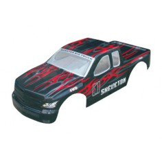Car body truck 1:5 black-red