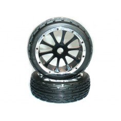 Pre-Mounted Tire Set(Front) 2P