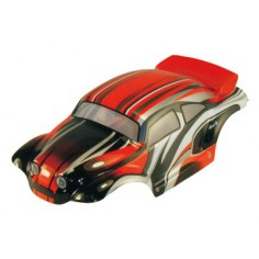 Car body Rock crawler 1:10 dark orange