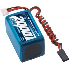 LRP VTEC LiFePo 2000 RX-Pack 2/3A Hump – RX-only – 6.6V