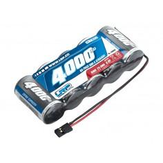 LRP XTEC 1/5 RX-pack Straight SubC NiMH - JR - 6.0V - 4000mAh