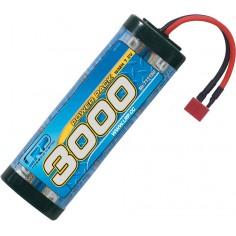 LRP Power Pack 3000 - 7.2V - 6-cell NiMH Stickpack