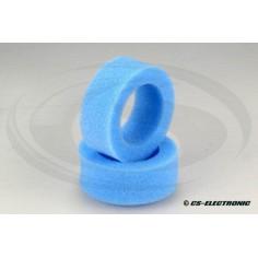 1:10 Offroad Reifeneinlage 2WD und 4WD -Rear- hart, blau (2)