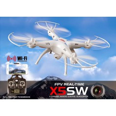 SYMA X5SW Explorers 2 310mm, 2.4Ghz dronas su WIFI ir HD 2MP kamera, RTF