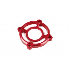 CNC aluminum alloy fan fix cover red