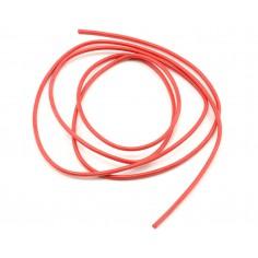 HM 0.5mm2, 201AWG silikoninis ypač lankstus laidas 1m raudonas