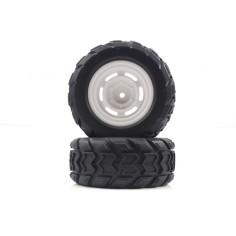 Monster Truck Rear Tires&Rims 2P