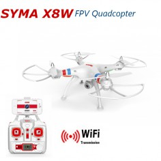 SYMA X8W 490mm, 2.4Ghz multikopteris su HD kamera, RTF