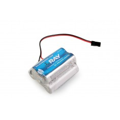 6.0V 2000AA ENELOOP Sanyo RX 5cell. receiv.pack