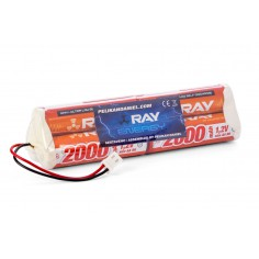 7.2V 2000AA Long RAY TX 6cell. transc.pack OPTIC Sport