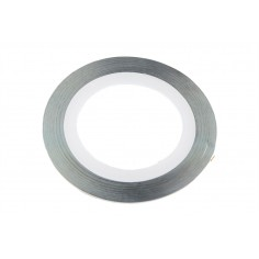 Line Tape 1 mm silver