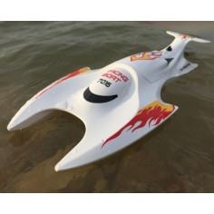 DH 7016 Racing Boat modelis 2.4GHZ RTR, 460mm