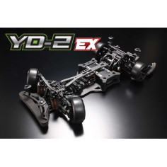 Yokomo YD-2 EX RWD 1:10 Drift Car Kit (Matte Graphite Chassis)