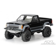 "JEEP Comanche Full Bed Clear Body for 12.3"" (313mm) Wheelbase Scale Crawlers"