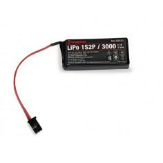 LiPo 1S2P/3000 3,7V f. mz-12