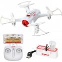 SYMA X22W 144mm, 2.4Ghz dronas su WIFI ir 1MP kamera, RTF