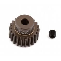 FT Aluminum Pinion Gear, 22T 48P, 1/8 shaft
