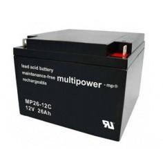 Multipower Blei-Akku MP26,0-12C