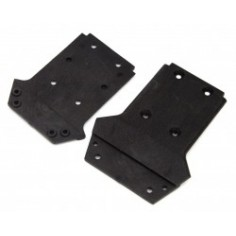 LRP S10 Front and rear Chassis Plate