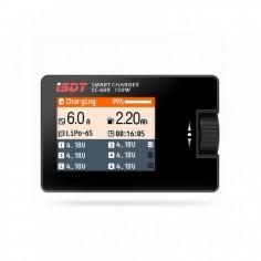 iSDT SC-608 150W 8A universalus 12V mini įkroviklis