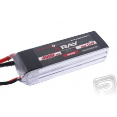 G4 RAY Li-Pol 4900mAh/11.1 30/60C Air pack+XT60 plug