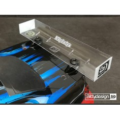Rear HARD Wing 190mm 1/10 TC bodies - MODIFIED