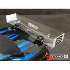 Rear HARD Wing 190mm 1/10 TC bodies - STOCK