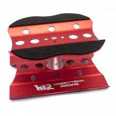 Maintenance Car Stand Alloy rotating - red